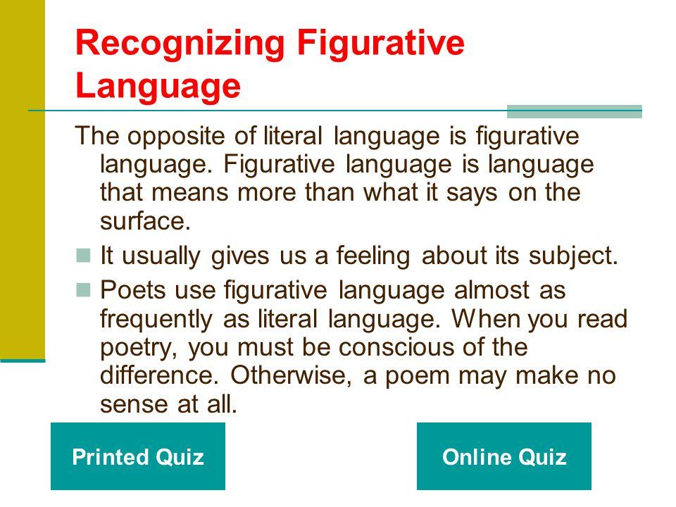 Go Figure! Figurative Language Grade 5