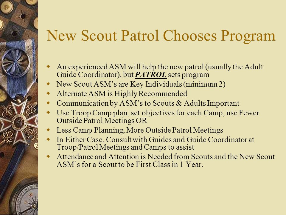 FCE Campout Theme: Getting Started  This can be the first requirements completed by the FCE scouts on a Troop campout.