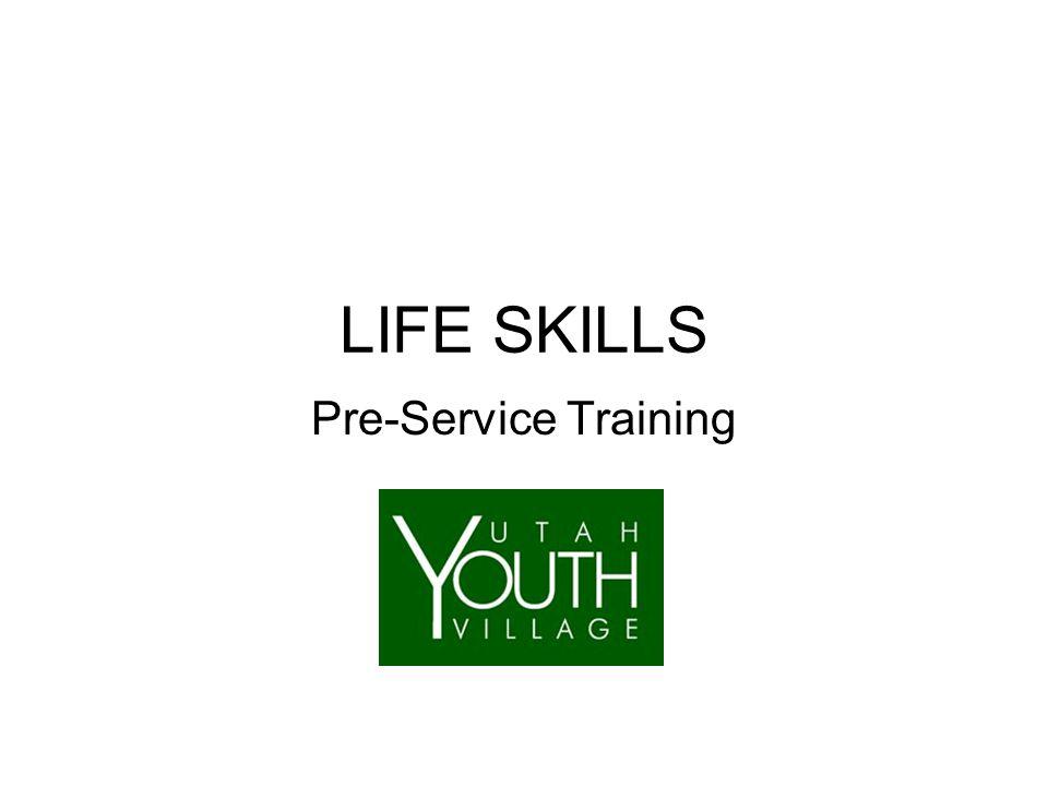 LIFE SKILLS Pre-Service Training