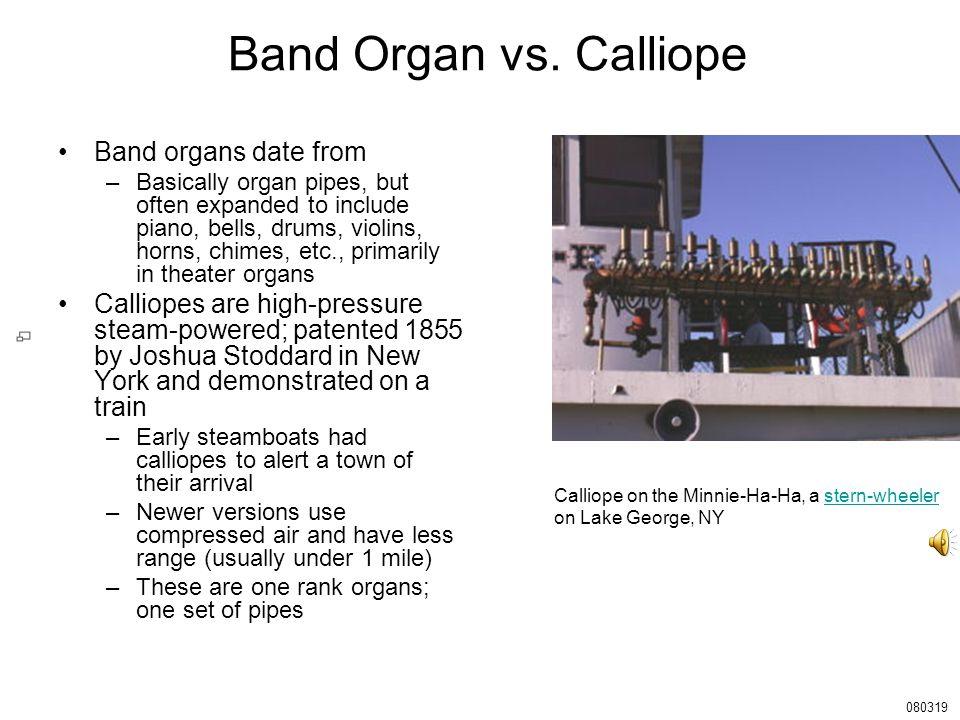 Band Organ vs.