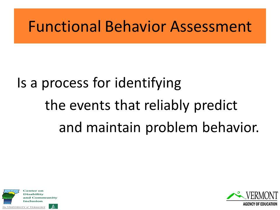 Behavior is predictable.Behavior is changeable.