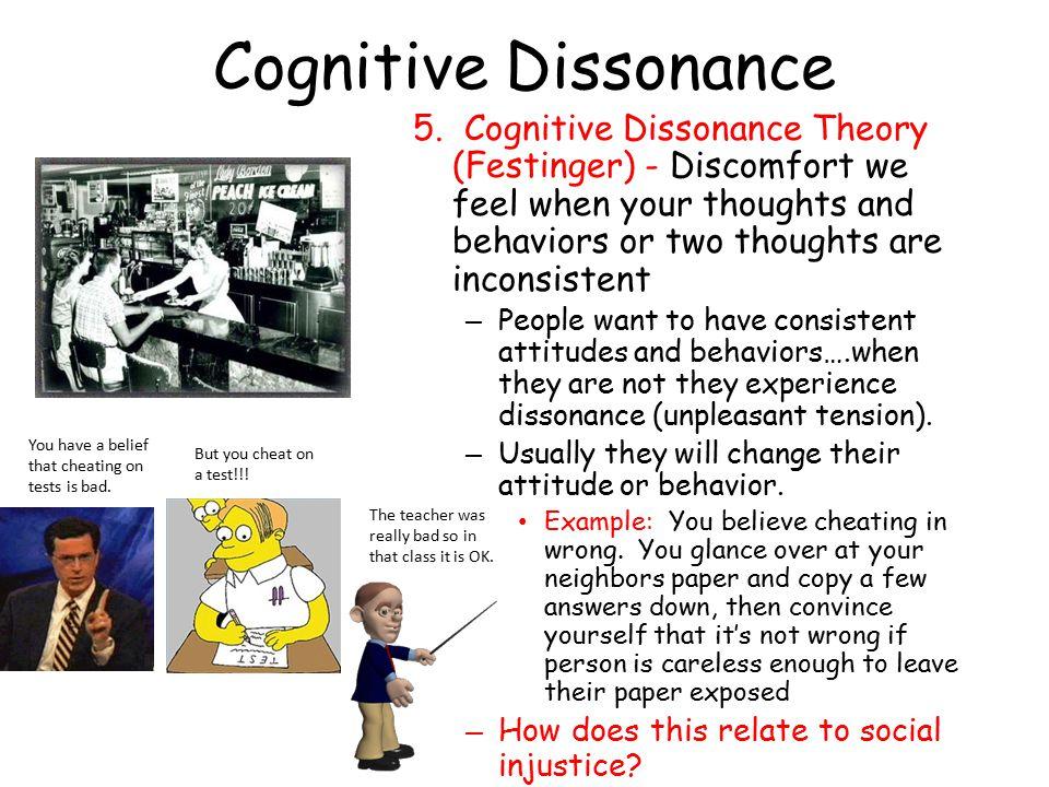 Cognitive Dissonance 5.
