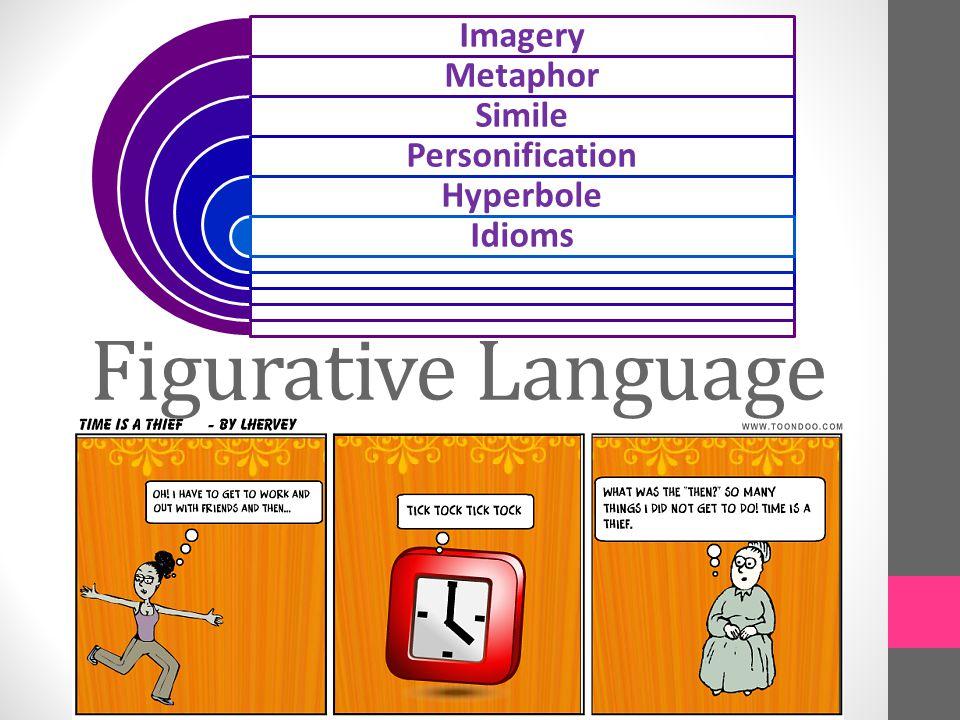 Figurative Language Imagery Metaphor Simile Personification Hyperbole Idioms