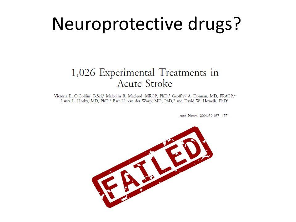 Neuroprotective drugs?