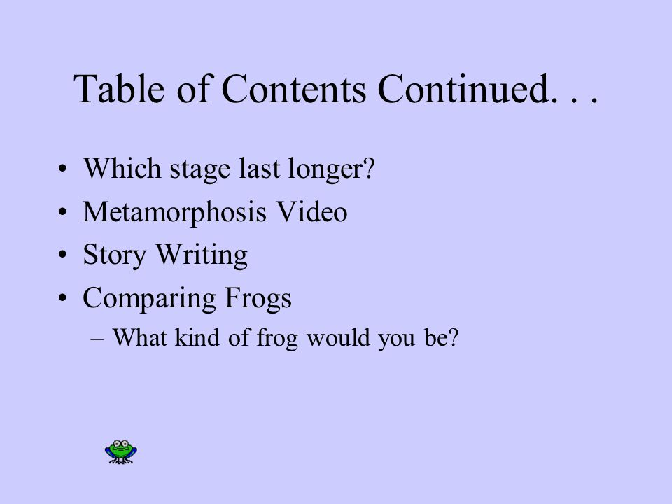 Table of Contents Why are frogs so happy? They eat whatever bugs them! Georgia's Amphibian –You Vote Habitat –Map Interesting Information –Interesting