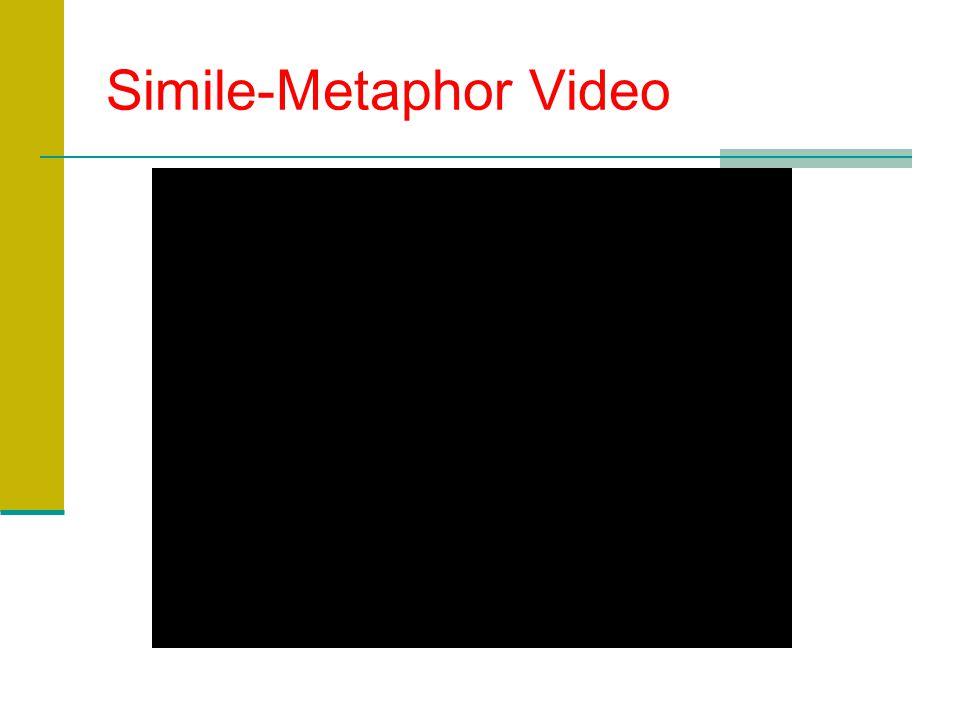 Simile-Metaphor Video