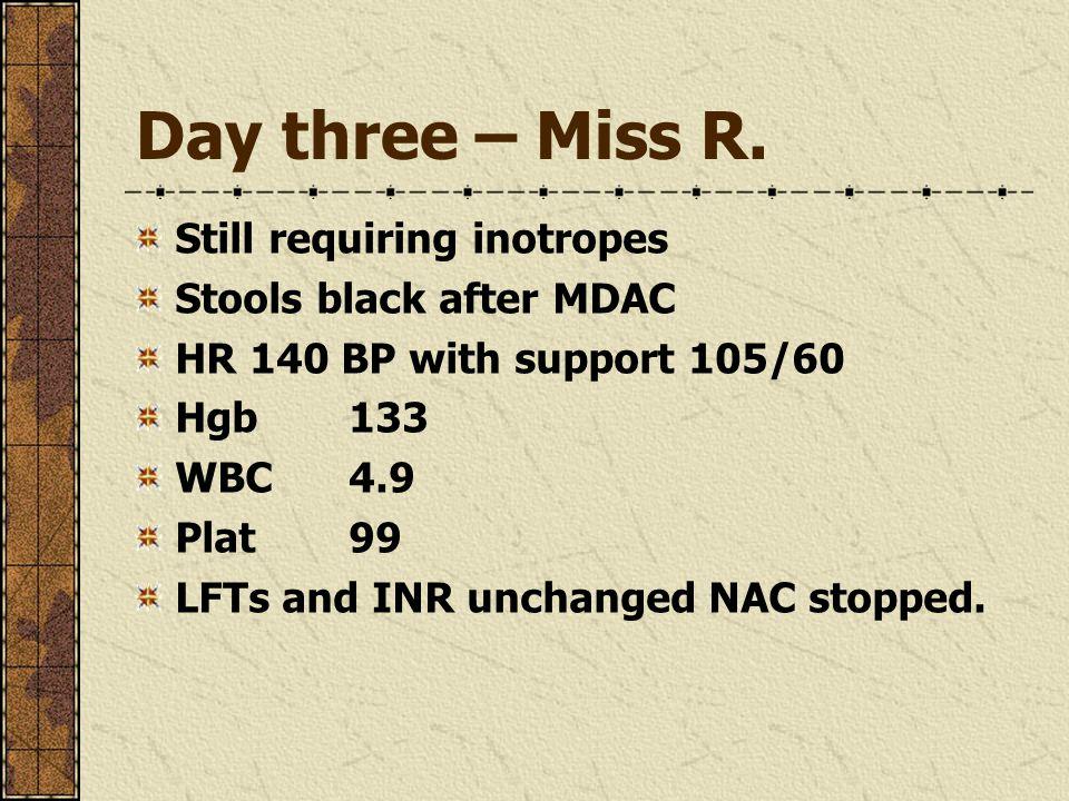 Day three – Miss R.