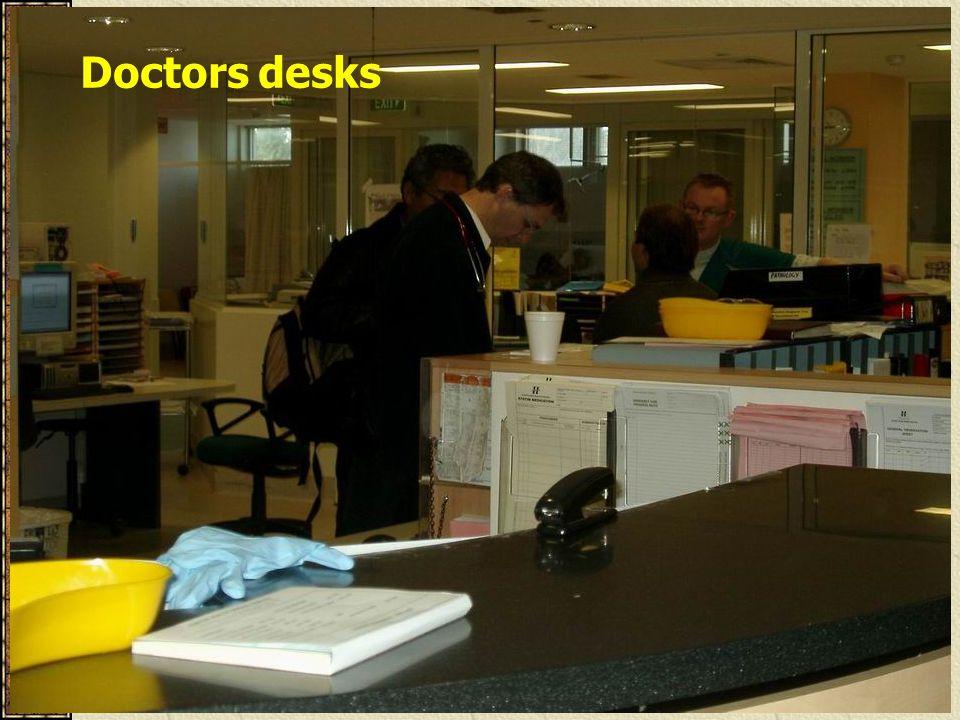 Doctors desks