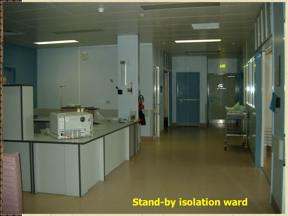 Stand-by isolation ward