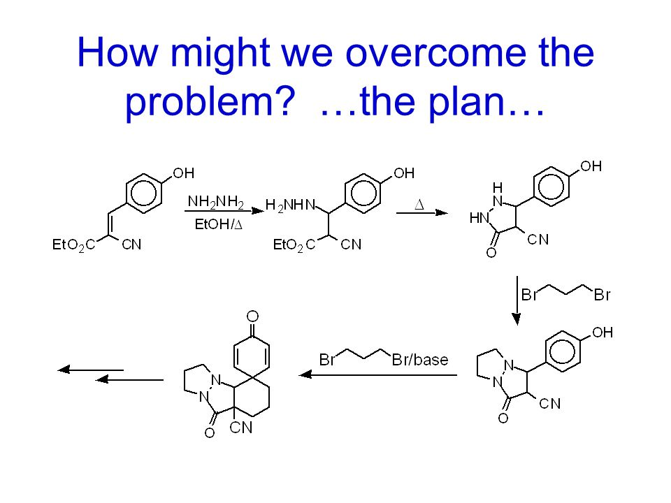 How might we overcome the problem …the plan…