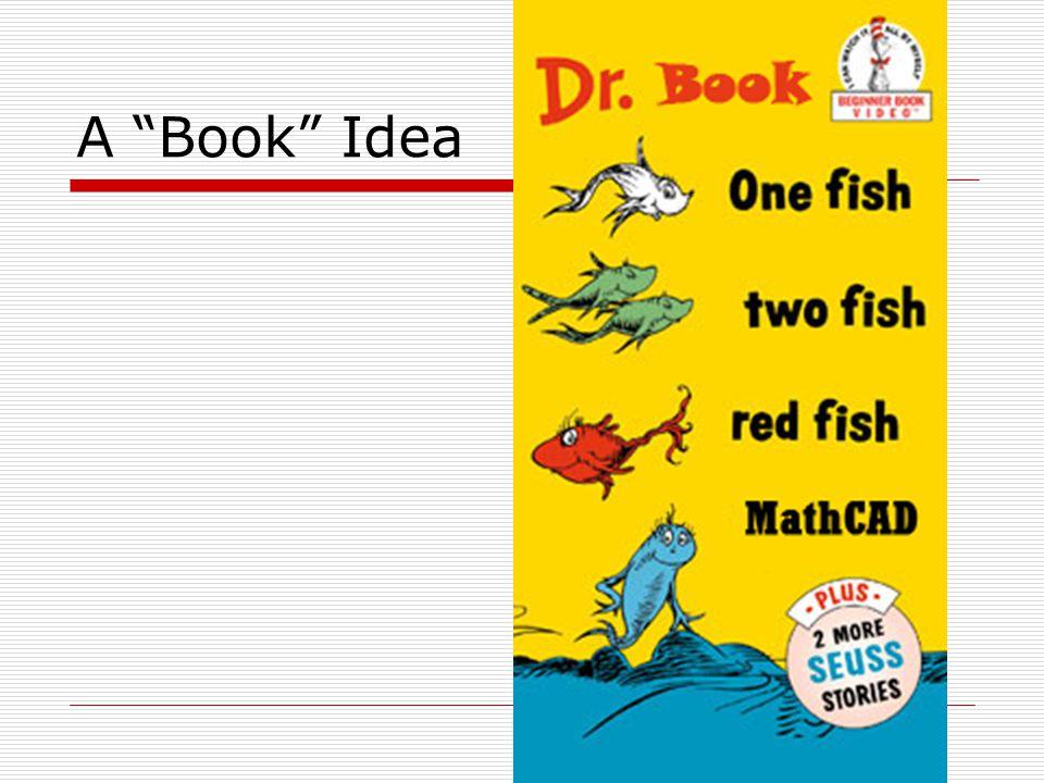A Book Idea