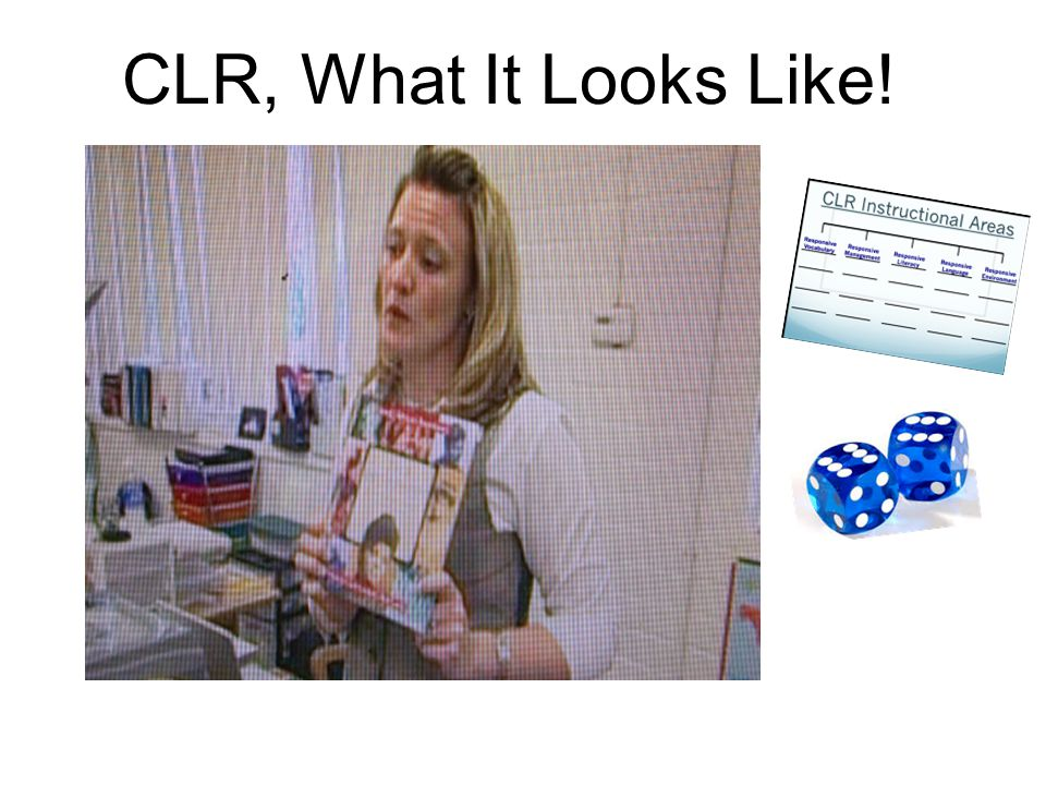 CLR, What It Looks Like!