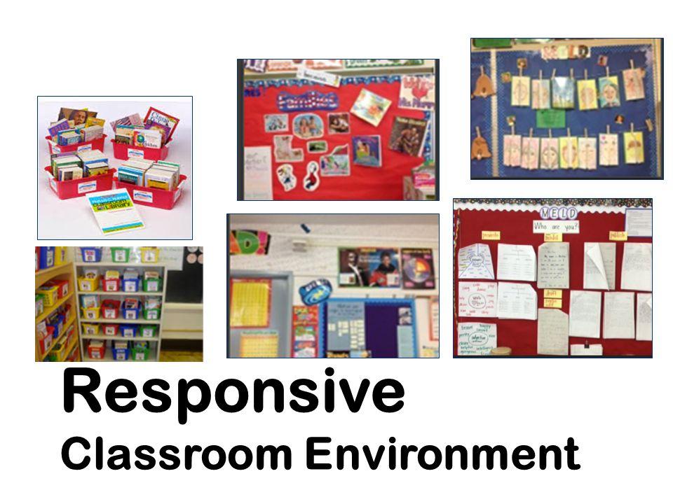 Responsive Classroom Environment
