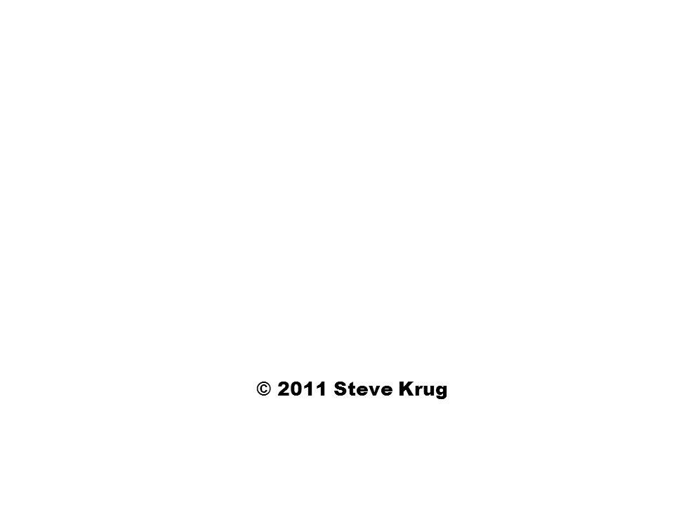 © 2011 Steve Krug