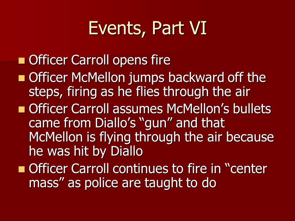 Events, Part VII