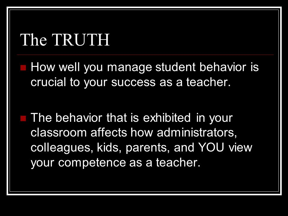 The Questions What is the difference between classroom management and discipline.
