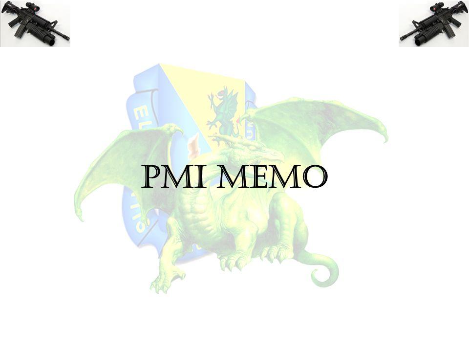 PMI MEMO