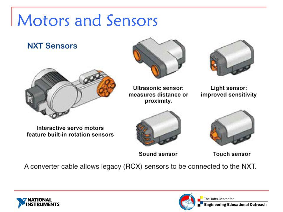 Motors and Sensors
