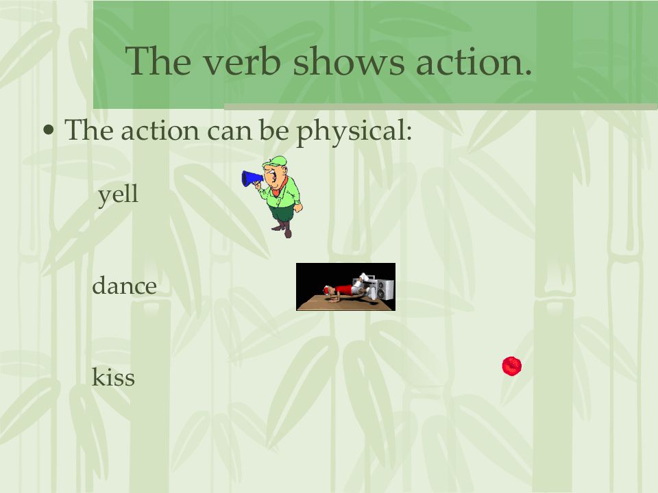 Linking verbs don't show action.Linking verbs link a subject to a descriptive word.