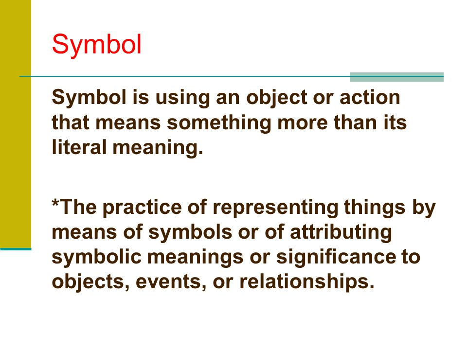 Types of Figurative Language Continuation Allusion Oxymoron Symbol