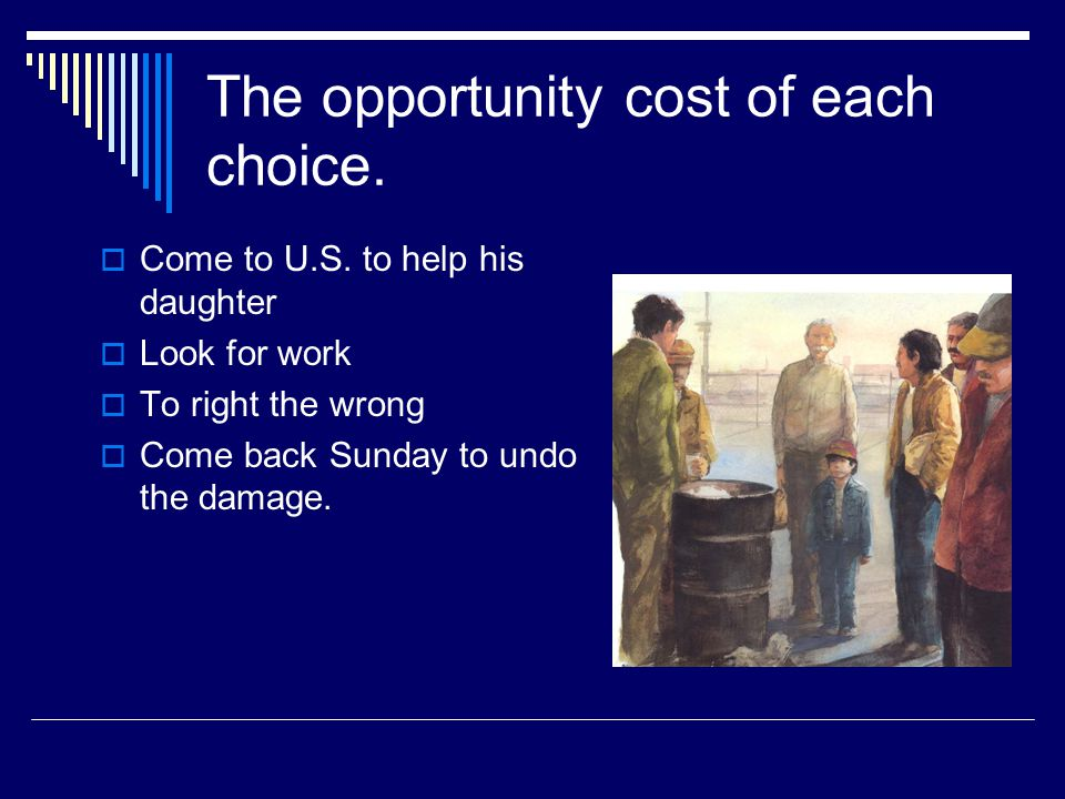 Abuelo s choices (Summary)  Come to U.S.