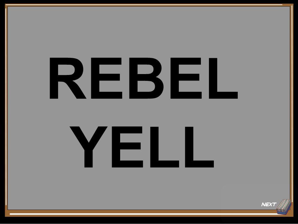 NEXT REBEL YELL