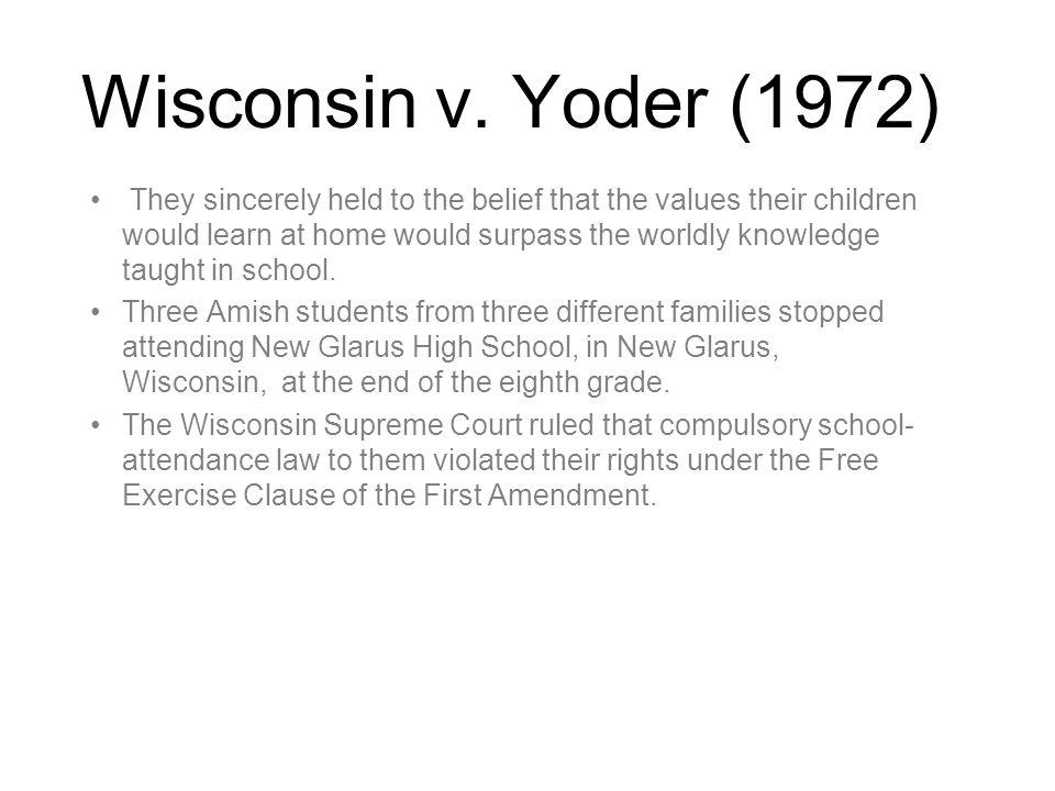 Wisconsin v.