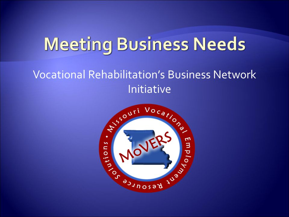 Vocational Rehabilitation's Business Network Initiative