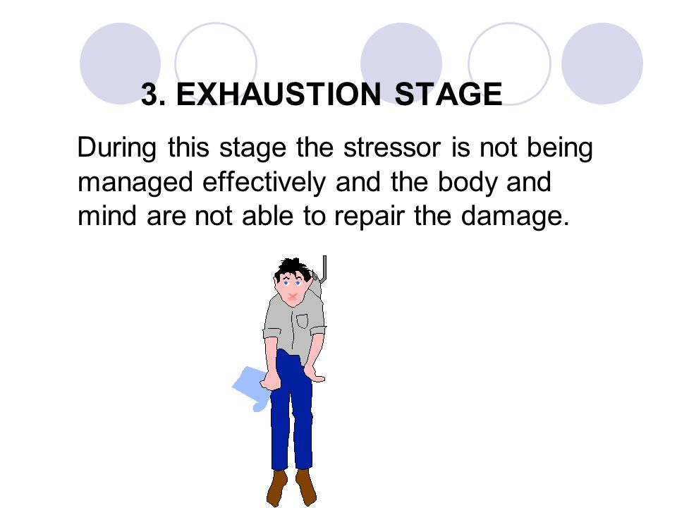 RESISTANCE STAGE MORE EXAMPLES Emotional indicators include: l tearfulness l fear l anxiety l panic l guilt l agitation l depression l overwhelmed.