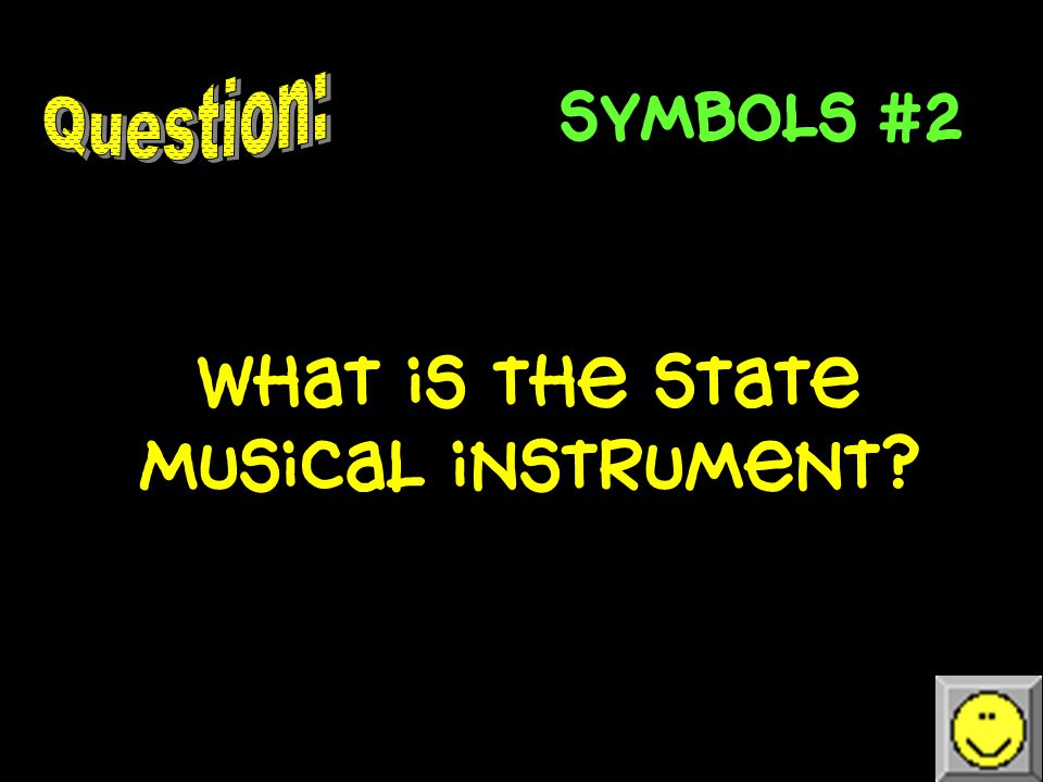 Symbols #1 What is the state mammal