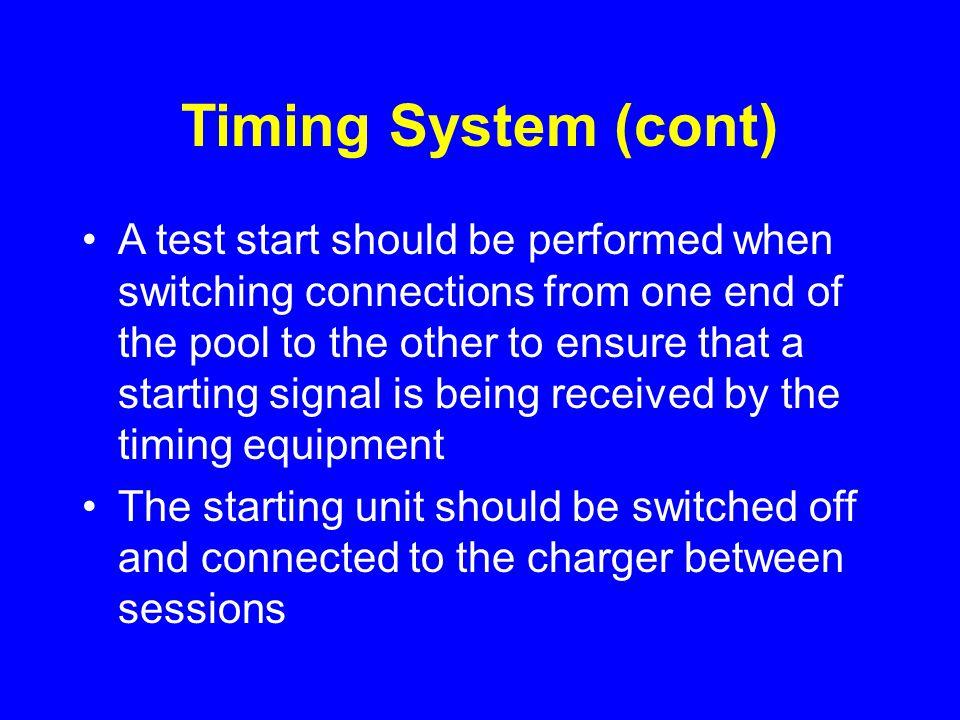 Announcing Guidelines (cont) Singular, not plural –100 Yard, not 100 Yards or 100 –100 Meter, not 100 Meters or 100
