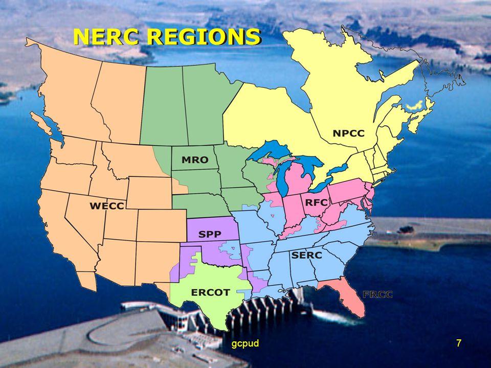 gcpud7 NERC REGIONS