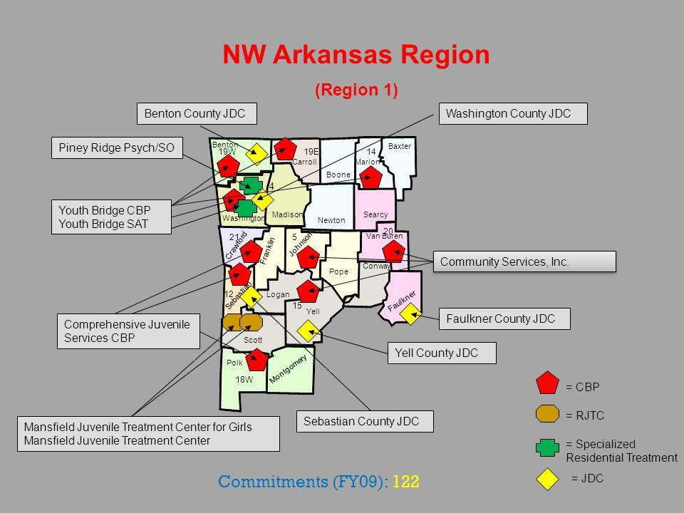 Mississippi NE Arkansas Region (Region 2) Craighead Greene Crittenden Cross Poinsett Monroe St.