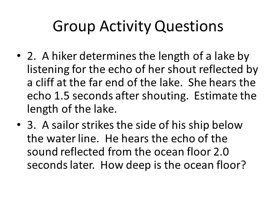 Group Activity Questions 2.