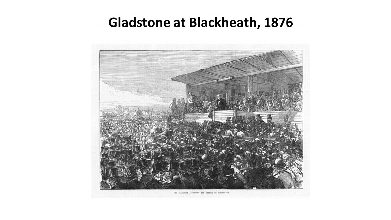 Gladstone at Blackheath, 1876