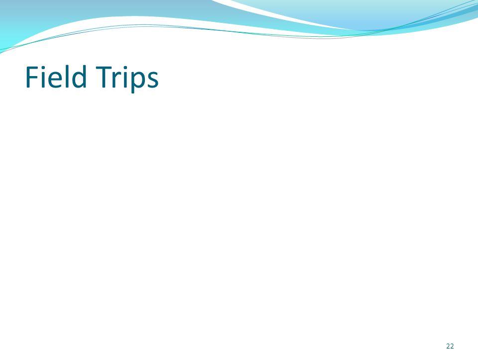 Field Trips 22