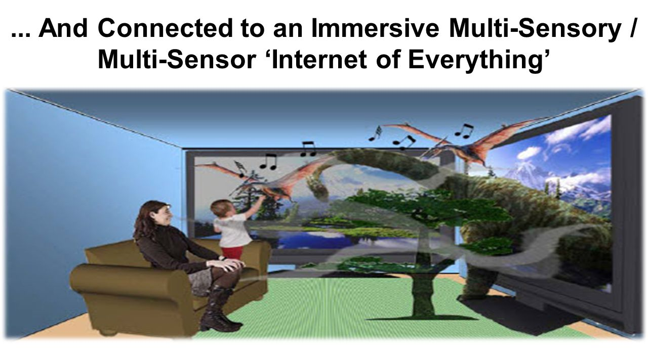 ... And Connected to an Immersive Multi-Sensory / Multi-Sensor 'Internet of Everything'