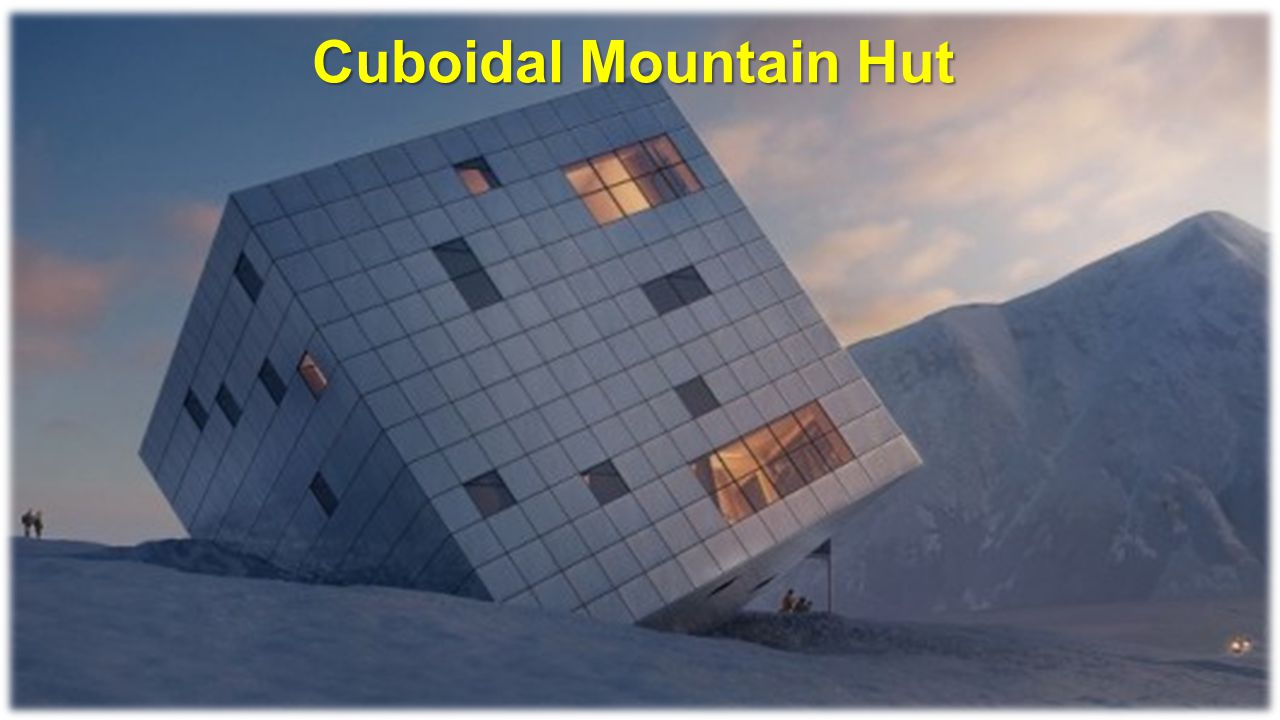 Cuboidal Mountain Hut