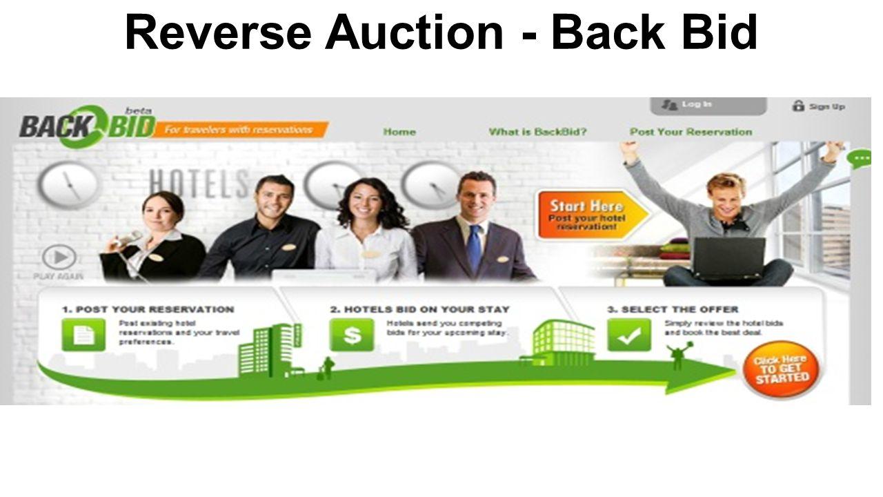 Reverse Auction - Back Bid