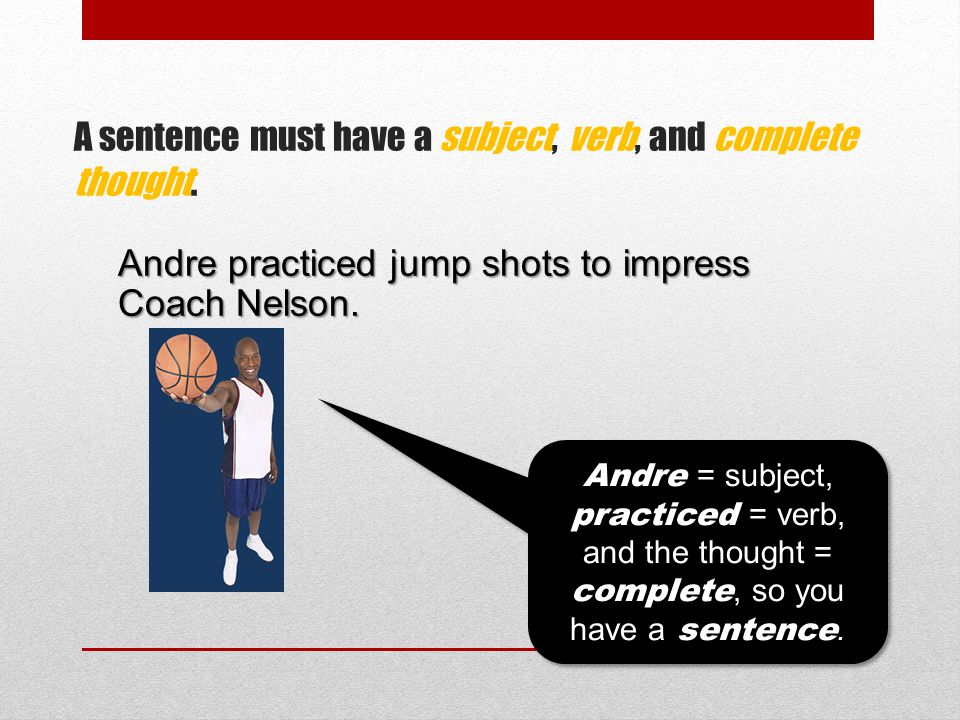 Andre practiced jump shots to impress Coach Nelson.