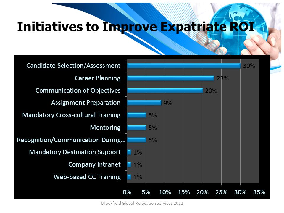 Initiatives to Improve Expatriate ROI Brookfield Global Relocation Services 2012