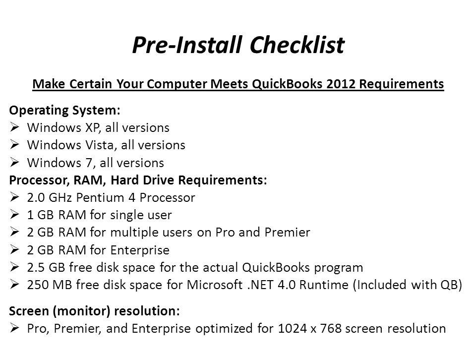 Setup QuickBooks - Step 12 Do You Track Customer Orders?