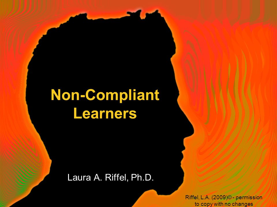 How do we teach children with Oppositional Defiant Disorder or children who refuse to do work.