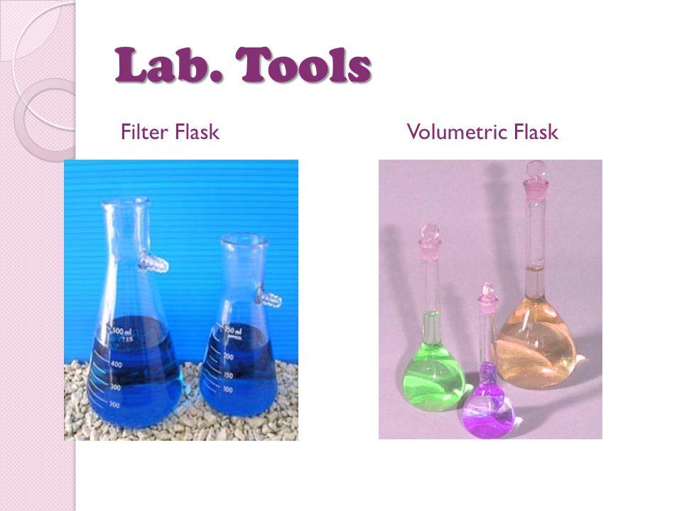 Lab. Tools Filter FlaskVolumetric Flask