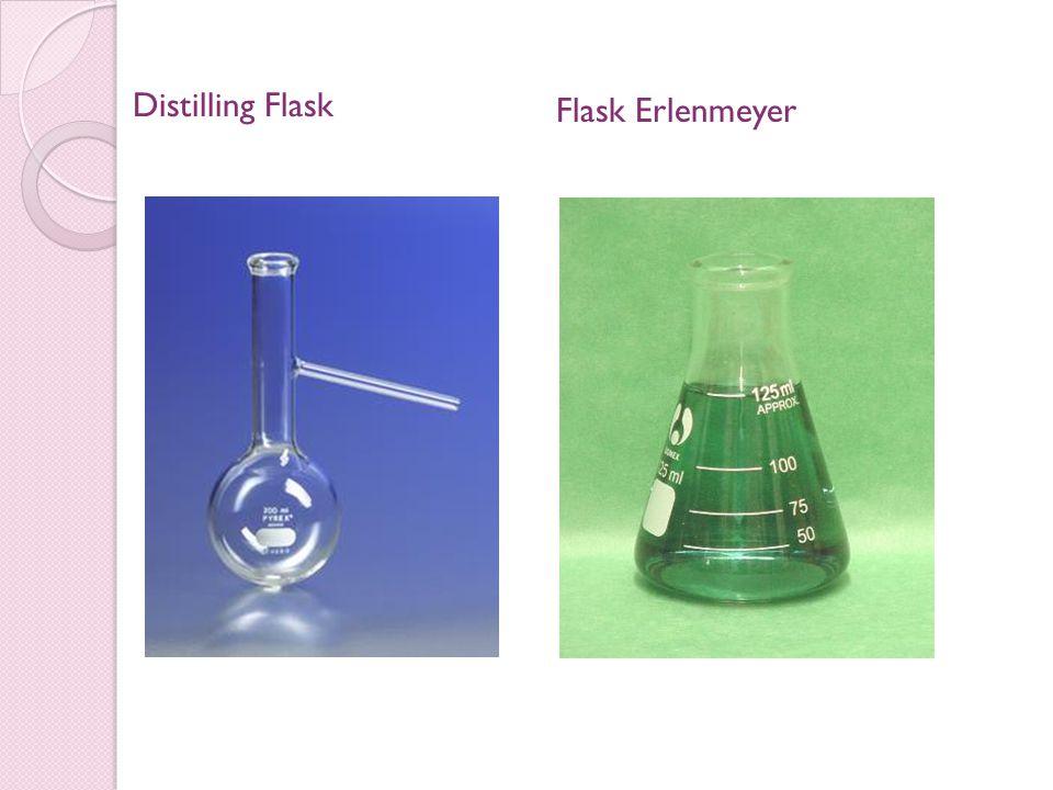 Distilling Flask Flask Erlenmeyer