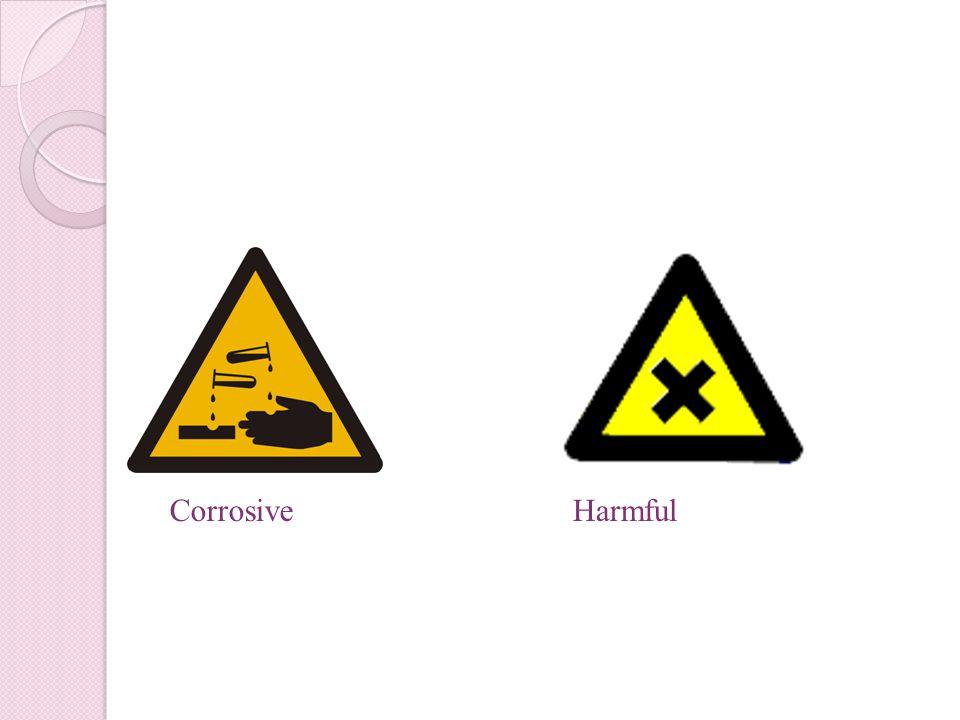 CorrosiveHarmful
