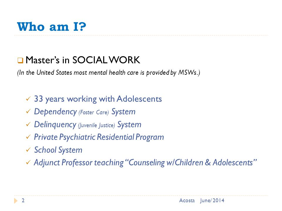 Characteristics of adolescence that lead to various problems: 23 1.
