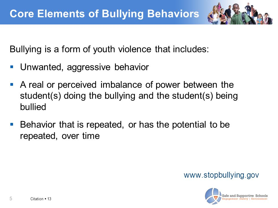 6 A Change in Perspective From…To… Bully  Student who bullies Victim  Student who was bullied Behavior is aBehavior can be permanent  replaced or changed characteristic