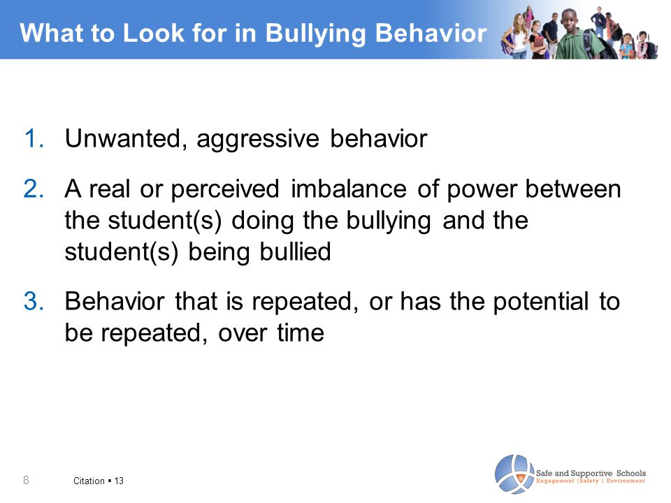 19 Simple Short-Term Solutions  Bullying is a long-term, often repeated problem.