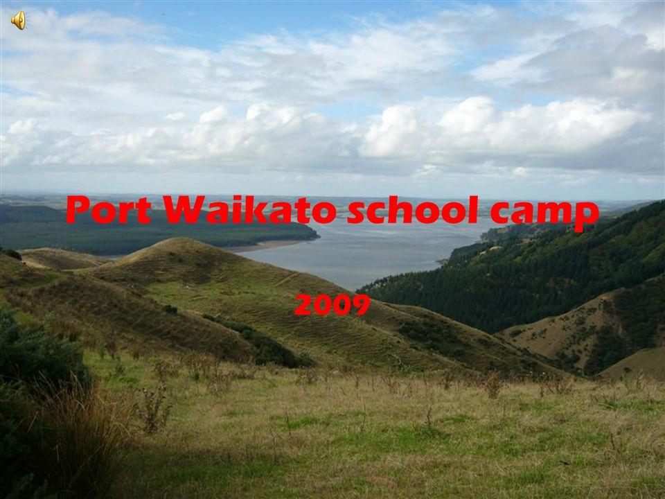 Port Waikato school camp 2009